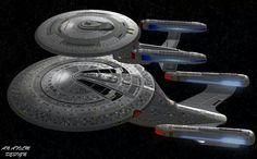 Ambassador Class Galaxy Class Starship