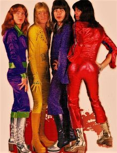 glam The four Sweeties. Sweet Band, Brian Connolly, Glam Metal, Boy George, Def Leppard, Dandy, Cool Bands, My Music, Music