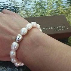 "Silpada Bracelet Silpada ""Shine On"" stretch bracelet. In new condition. No trades. Offers through the offer button. Thank you. Silpada  Jewelry Bracelets"