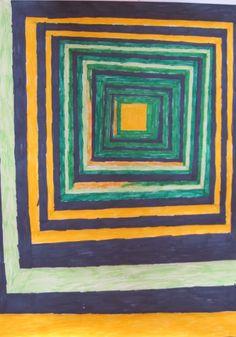 Op-art, kao Vasarely, r. Op Art, Painting, Painting Art, Paintings, Painted Canvas, Drawings
