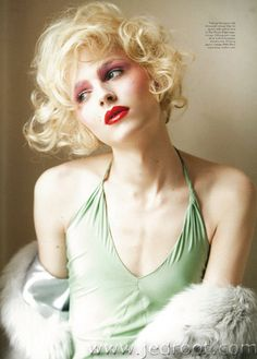 """Andrej Pejic as Candy Darling for Candy Magazine // """"Sweet As Candy"""" by David Armstrong"""