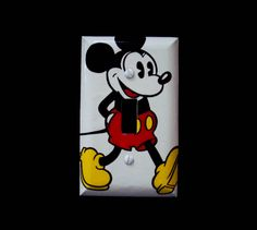 Single Light Switch Plate Cover Disney by cathyscraftycovers