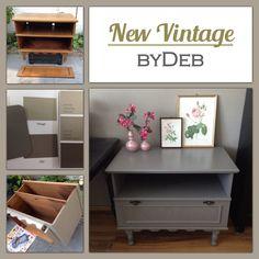 Van oud naar ineens weer erg leuk! #New Vintage  #NewVintage byDeb #Debby Rijvers