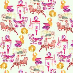 ARTICLE: Toile de Joy | You Either Love It Or Hate It | Image Source: Design Sponge | CLICK TO READ... http://carlaaston.com/designed/toile-de-jouy-love-or-hate-design-pattern