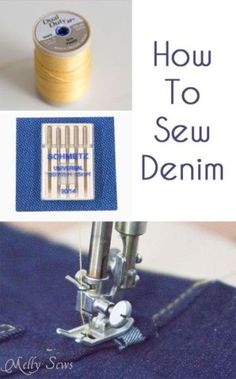 Denim is a versatile fabric that works for a variety of projects, but how do you sew with it? The post How to Sew Denim appeared first on Sewtorial.