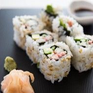 California Roll Recipe Recipe site with diverse types of cuisine! (American, Asian, Japanese, Mexican, Italian ... )