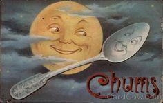 Vintage Postcard- Chums.
