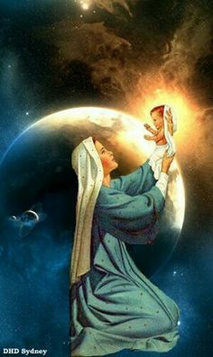 Mother Mary holding up Jesus, savior of the world. Miséricorde Divine, Divine Mother, Mother Goddess, Religious Pictures, Jesus Pictures, Angel Pictures, Blessed Mother Mary, Blessed Virgin Mary, Catholic Art