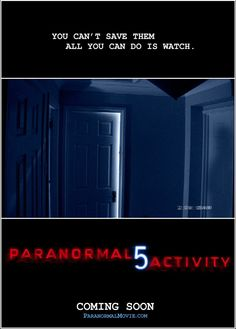 Paranormal Activity (October 2014)
