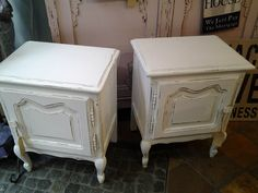 Set: Shabby Chic Nachttische: € 170,- Shops, Hope Chest, Storage Chest, Cozy, Cabinet, Shabby Chic, Furniture, Home Decor, Clothes Stand