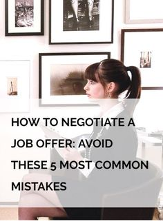 Did you know that NOT negotiating is the number one most common mistake during a job offer or salary negotiation. No matter what situation you are in, we all tend to make the same mistakes during a job offer negotiation. Find out here how to avoid these mistakes and to negotiate a job offer like a BOSS.