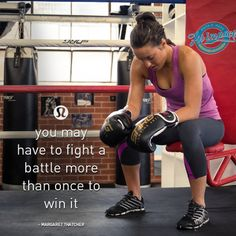 you may have to fight a battle more than once to win it.   Some of them I have to fight every damn day.