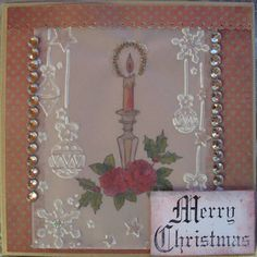 7/10/13 Hilde- our Guest Designer- joins in the Christmas Parchment Challenge at Sweet Stamps
