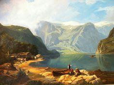 Mi versión de un cuadro de Wilhelm Leu