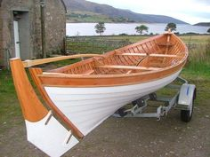Plywood Skiff | Viking Boats of Ullapool: What is Wood and What Not