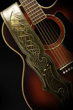 Ethos Custom Brands - Vanquisher-Wyvern Guitar Strap, $226.00 (http://www.ethoscustombrands.com/vanquisher-wyvern-guitar-strap/)