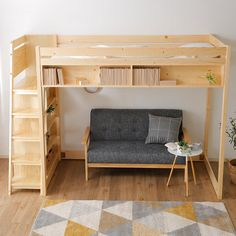 Loft Beds For Small Rooms, Small Room Bedroom, Bedroom Loft, Small Room Design, Home Room Design, Small Condo Decorating, Queen Loft Beds, Small Bedroom Inspiration, Loft Bed Plans