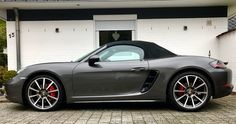 #car Porsche 718 Boxster, Boxster S, Alto Car, Build Stuff, Porsche Cars, Amazing Cars, Hot Wheels, Cars Motorcycles, Cars