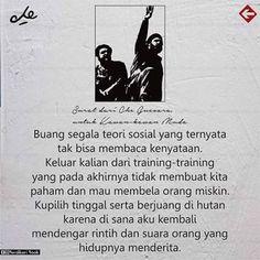 Surat dari Che Guevara, untuk kawan-kawan Muda ! Che Guevara, Moving Out, Day Care