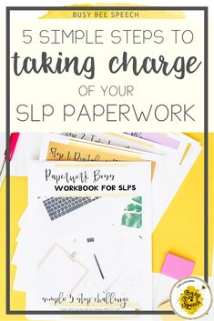 Have you ever struggled to keep track of all of your many SLP tasks and responsibilities?  Join the totally free and simple 5-step Paperwork Boss Challenge and finally get a system in place that works for YOU.  It includes a FREE workbook, plus my best kept tracking secrets!