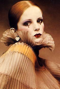 Vintage fashion clown