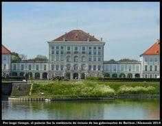 Joseph Effner. Parque del palacio de Nymphenburg -