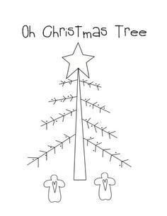 Christmas Trees Coloring Page - Oh Christmas Tree