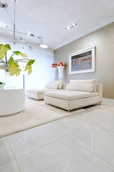Floor tiles by Margres. In Vonhaff Interiors Design store, Aveiro, Portugal