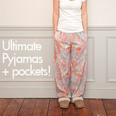 Love pockets in your pyjama bottoms? Fancy adding them to your Ultimate Pyjamas? This week we're bringing you a free pocket pattern piece so you can do just that! First off, start by downloading the free bonus Ultimate Pyjamas Sewing Pattern Pocket Piece. (Just click the link.) Open the file in Adobe Acrobat Reader, and …