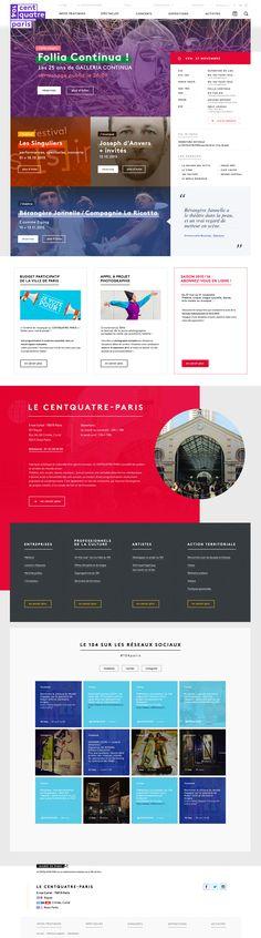 Le Centquatre-Paris : nos spectacles Web Design, Graphic Design, My Magazine, Interactive Art, Best Templates, Paris, Art Director, Typography, Branding