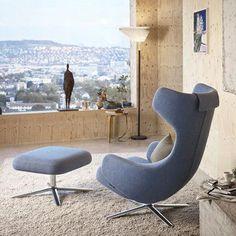 Grand Repos U0026 Ottoman Lounge Sessel Mit Fußteil     A048300.000