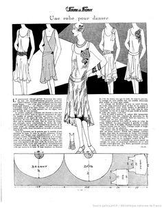 Robe de Danse (La Femme de France 25/11/1928)                                                                                                                                                                                 More