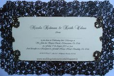 Wedding Stationery by Sinead Dineen: Laser Cut Invitations Laser Cut Invitation, Invitations, Wedding Stationery, Wedding Designs, Day, Frame, Picture Frame, Save The Date Invitations, Frames