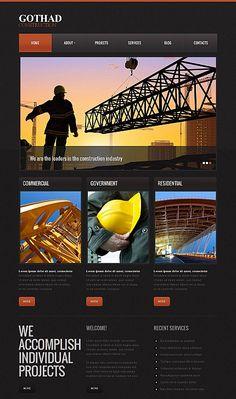 Architecture // Moto CMS HTML // Template #43521