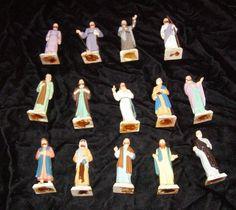 #Jesus #Christ & #Apostles Religious Figures #Marx Plastic Play Set #toys #toysfigures #vintagetoys #collectibles #collectables #playsets #playsetfigures