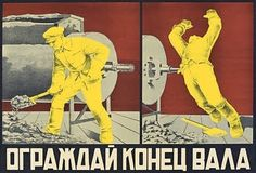 11 Wonderfully Violent Soviet Work Safety Posters - BuzzFeed Mobile
