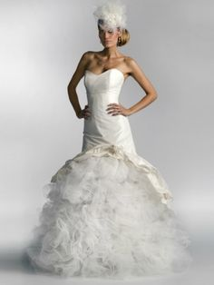 """Wedding dress """"Avalanche of Love"""" by GUDNITZ COUTURE"""