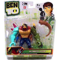 Buy Ben 10 Ultimate Alien Kevin Action Figure [Ultimate] at Walmart.com
