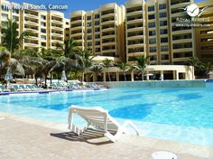 Happy Wednesday! Your pool is ready and waiting for you... enjoy your day! :) | Photo shared by Royal Resorts member Denisse S.