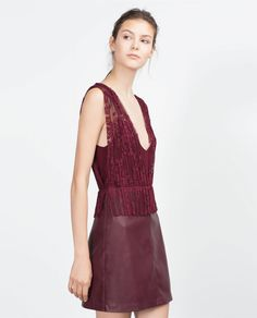 LACE DRESS - Dresses - TRF | ZARA Ukraine