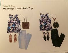 Savanna Styles: Olive & Oak Makridge Crew Neck Top