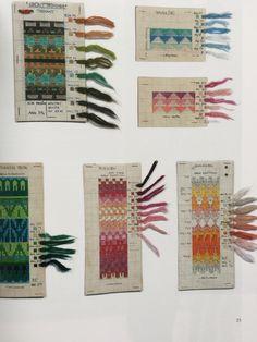 Bohus stickning på nytt The revival - Slöjdmagasinet Fair Isle Knitting Patterns, Knitting Charts, Knitting Stitches, Embroidery Patterns, Crochet Patterns, Fair Isle Chart, Digital Museum, Vintage Knitting, Vintage Patterns