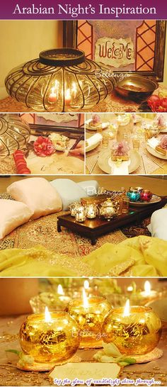 Arabian Night's Inspiration!