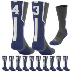 Worldwide Sport Supply, Inc.'s online shop offers a variety of wrestling, volleyball & team fitness apparel, shoes & accessories. Volleyball Team, Sport Socks, Crew Socks, Navy, Fitness, Sports, Shopping, Fashion, Hale Navy