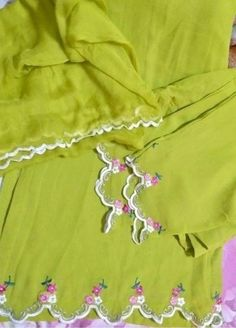 Indian Embroidery Designs, Embroidery Designs Free Download, Etsy Embroidery, Kurti Embroidery Design, Cutwork Embroidery, Hand Work Embroidery, Embroidery On Clothes, Couture Embroidery, Shirt Embroidery