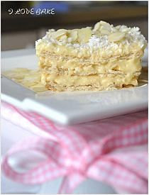 Rafaello coconut (no bake) cake - recipe Food Cakes, Cupcake Cakes, Cupcakes, No Bake Desserts, Just Desserts, Polish Recipes, Polish Food, Cakes Today, Desert Recipes