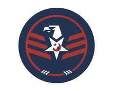 USA Soccer centennial jersey and crest