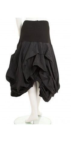 Xenia Design Black Architectural Selsa Skirt - Xenia Design from idaretobe.com UK