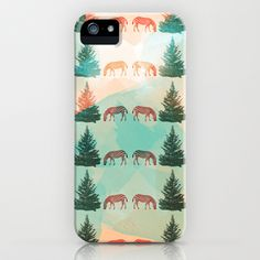Zebra and tree iPhone & iPod Case by Nahal - $35.00