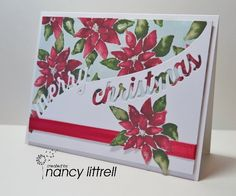 HLS CAS December Favourite Technique by nancy littrell - Cards and Paper Crafts at Splitcoaststampers